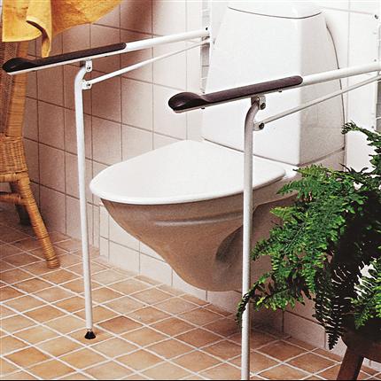 Etac Optima toalettarmstöd med stödben