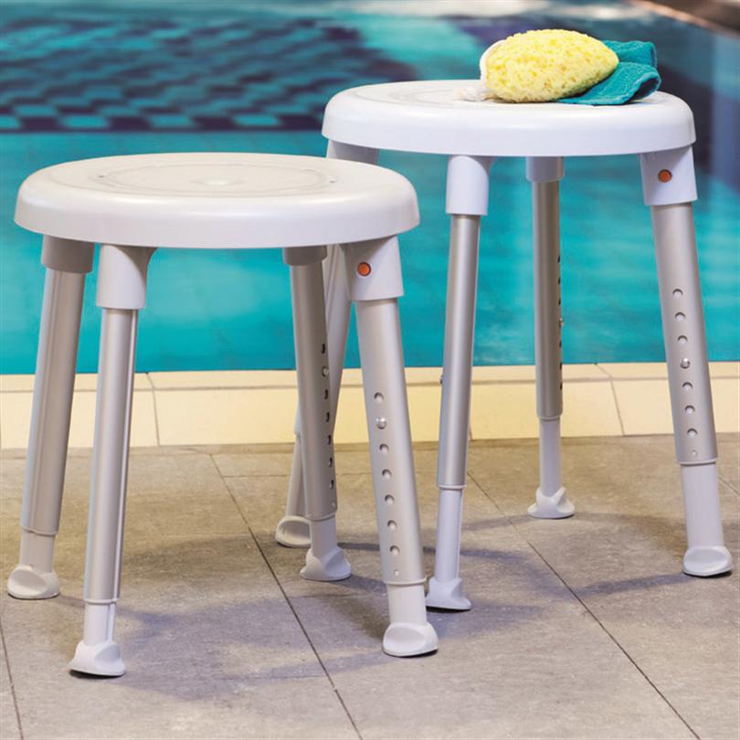 Rund duschpall, stabil och säker, mjuk design