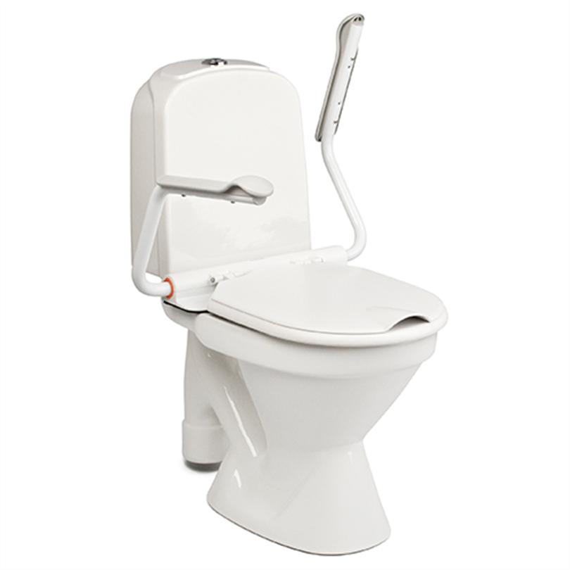 Etac Supporter med uppfällbart toalettarmstöd