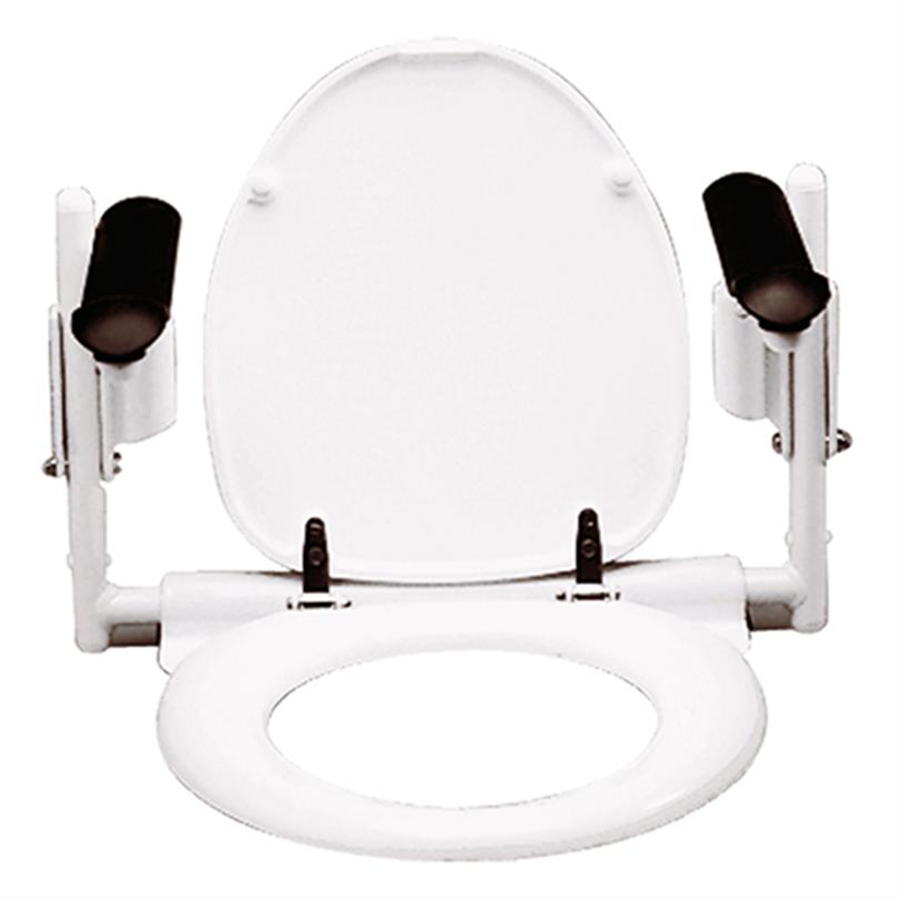 Etac Supporter höjdjusterbart toalettarmstöd