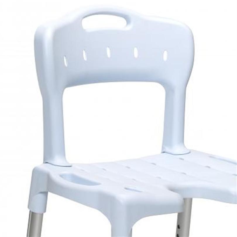 Etac Swift duschstol blå