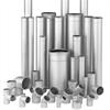 Avloppsrör, rostfritt och syrafast stål, rörledningar, rördelar, muff, läppringstätning