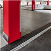 Mearin markränna för betong och dränerande asfalt