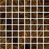 Glasmosaik Brun Golden Line