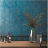 CCH väggplattor Scale Triangolo, Electric Blue Glossy