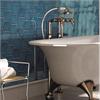 CCH väggplattor Scale Hexagon, Electric Blue glossy