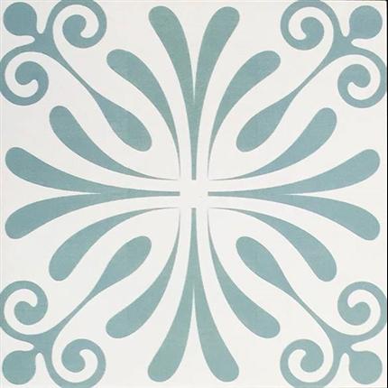 CC Höganäs Antique klinker Marrakechmönster K50214 Siena, matt