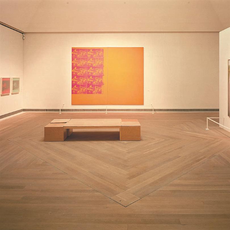 Stombergs Massiva Tilja vitek, Moderna Museet, Stockholm