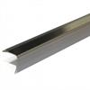 Dione Hörnskyddsprofil L25 RST2 av borstat, rostfritt stål 25x25 mm