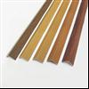 Hörnskyddslister av trämönstrad aluminium