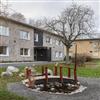 Stofix tegelfasadsystem HSB Brf. Brunna, Hallunda