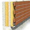 Stofix ventilerade tegelfasader med 50–100 mm tilläggsvärmeisolering