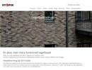 Stofix tegelfasader på webbplats