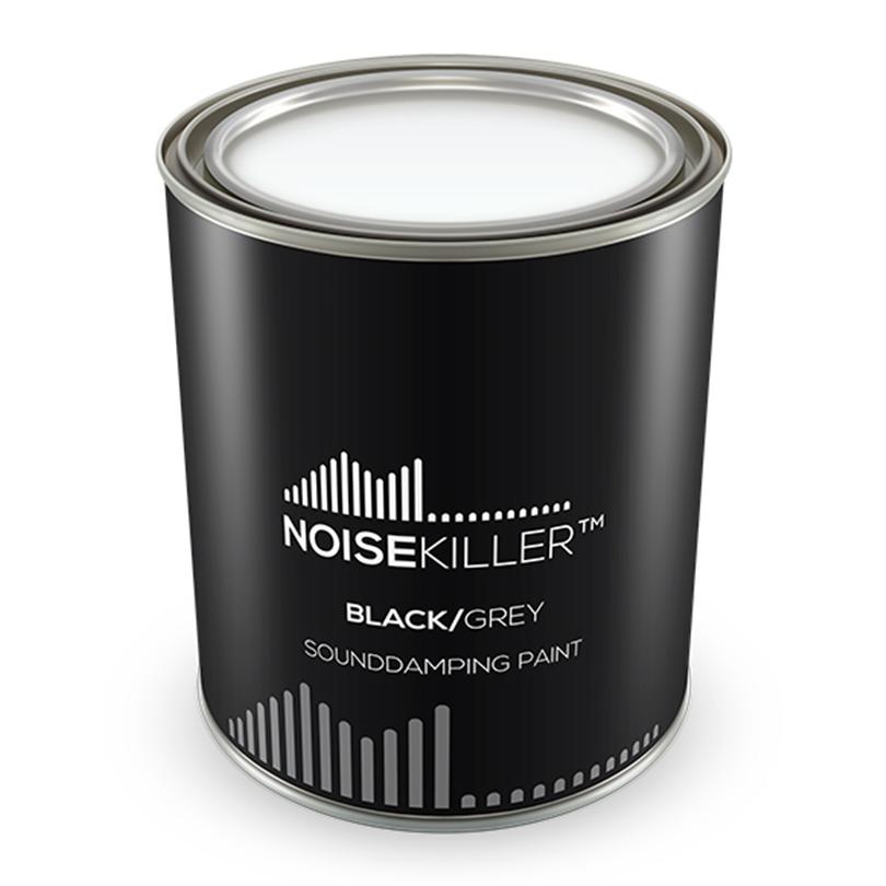 Vibratec ljuddämpande strykning Noisekiller Svart, 1 liter