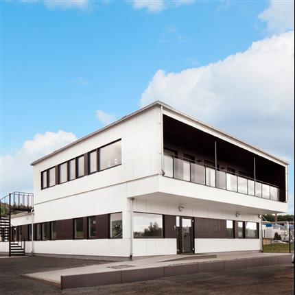 Flexator modulbyggnader, kontor