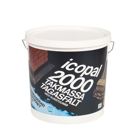 Icopal 2000 Takmassa, vattenbaserad