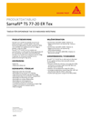 Sika Sarnafil TS 77-20 ER Tex
