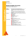 Sikadur-Combiflex SG fogtätningssystem