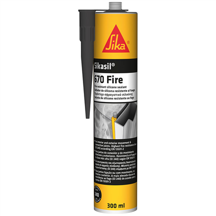 Sikasil-670 Fire brandskyddssilikon