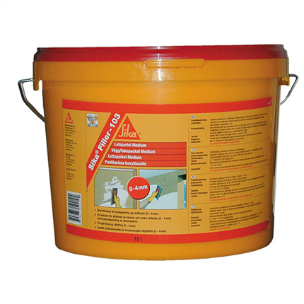 Sika Filler-103 lättspackel, medium