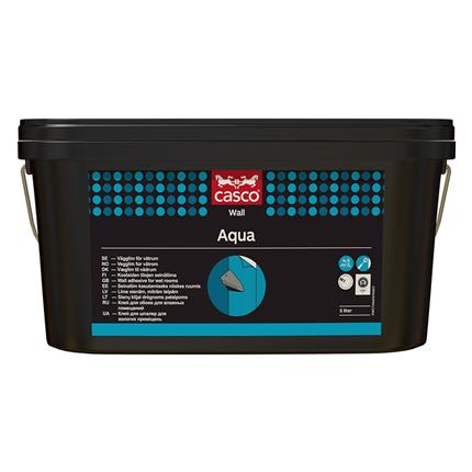 Casco Aqua vägglim för våtrum, 5 liter