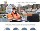 Företagets webbplats om kanaltätning