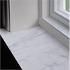 Stenentreprenaders Fönsterbänkar, Bianco Carrara