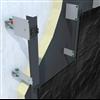 Fischer ATK 100 KL bärverkssystem med klämma för fasadskivor