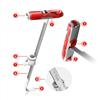 Fischer DUO-Line DuoTech plugg med glasfiberförstärkt, justerbar krage/hylsa och greppband med krok