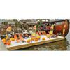 Specialbryggor, beachbrygga thaibåt