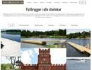 Flytbryggor på webbplats