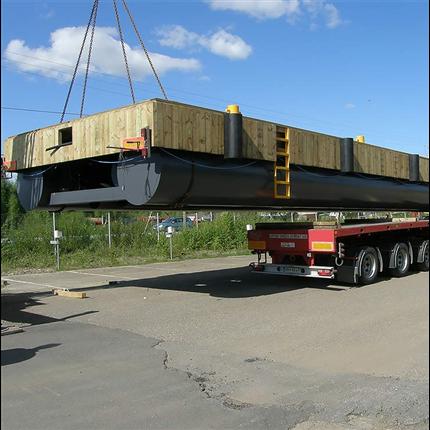 Stålpontonbrygga RTI 1220