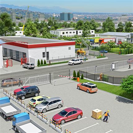 Demex Områdesskydd - bygg-/industriområden