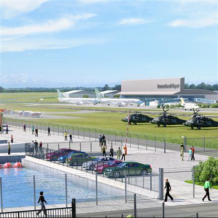 Flygplatser och hamnar områdesskydd