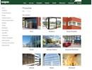Entréskjutdörrar 2050/2074 på webbplats