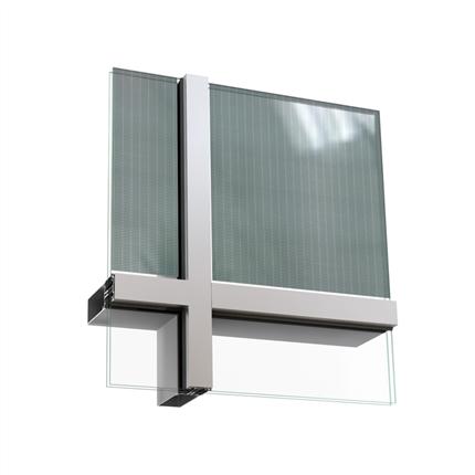 Sapa Fasad 4150, med Solar BIPV