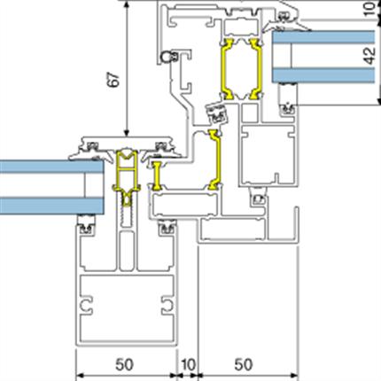 5050. Brand- och ventilationslucka
