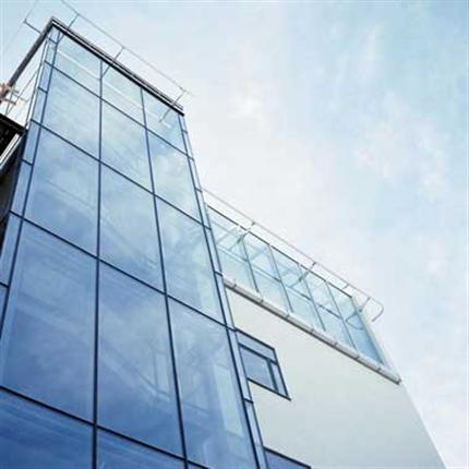 Sapa 5050 System glazing