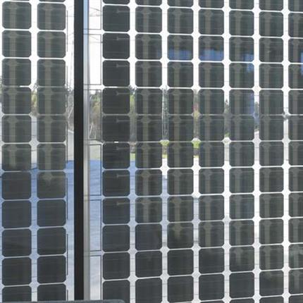 Sapa Solar BIPV solceller