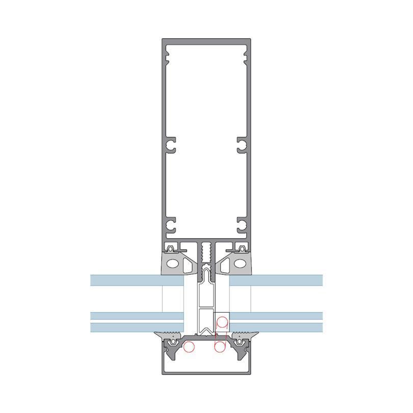 Sapa Fasad 4150 BIPV