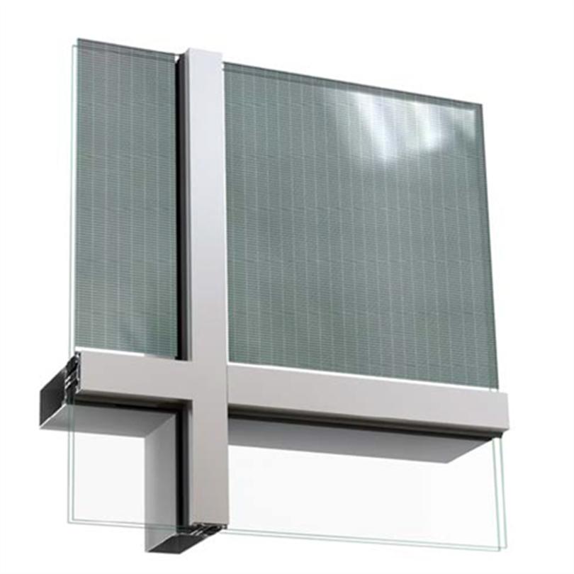 Sapa Solar BIPV, genomsiktligt isolerglas