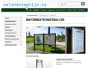Informationstavlor på webbplats