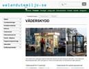 Väderskydd på webbplats