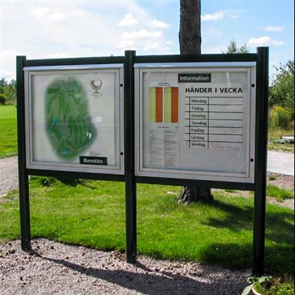 Weland Informationstavlor