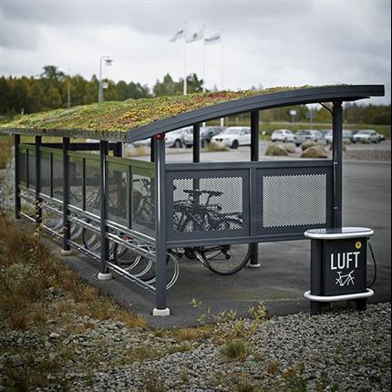 Weland Cykelparkeringar