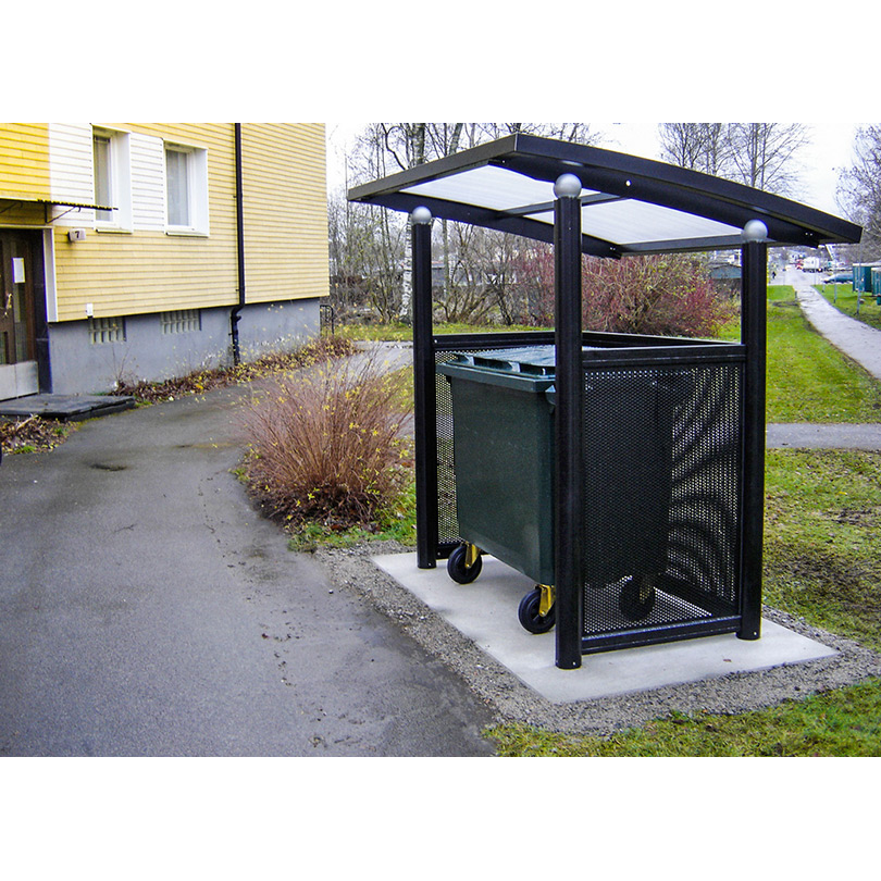 Weland väderskydd Thebe, för sopkärl