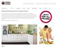 Hagaköket Snabbsortiment på webbplats