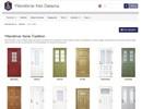 Leksandsdörren Tradition ytterdörrar på webbplats