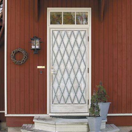 Leksandsdörren Leksand-RTD med överljus enkeldörr