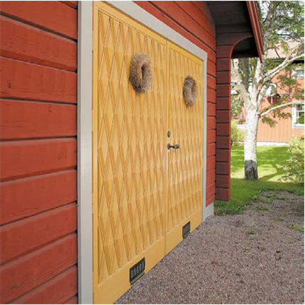 Leksandsdörren Garageporten Leksand RTP